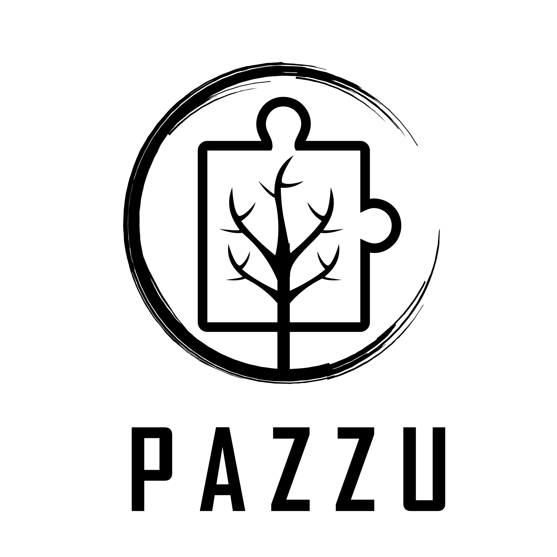 פאזו-פאזלים דקורטיביים מעץ