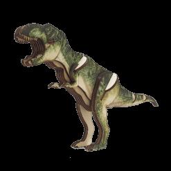 פאזל עץ תלת ממד דינוזאור טי רקס